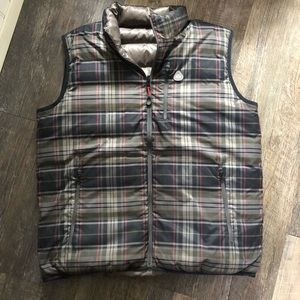 Brooks Brothers | Plaid Reversible Goose Down Vest